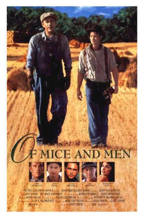 an analysis of the characters george and lennie in the novel of mice and men by john steinbeck Of mice and men by john steinbeck george is a vital character in the novel of mice and men being that he is the protagonist he is an averagely built but a complex individual who has come to understand the need for companionship through watching after lennie for many years.