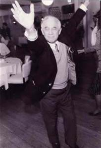 Morrie loved to dance, and he didn't care who was watching.
