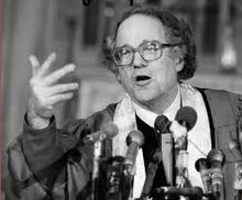 William Sloane Coffin, calling on the faithful, calling out everybody.