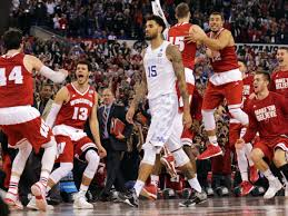The unbeatens are no more. Badgers can dance. Thrill. Quiet agony.