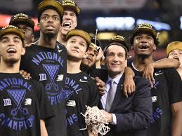 "The ""One Shining Moment"" video is getting old for me, but not for Coach K and his boys."