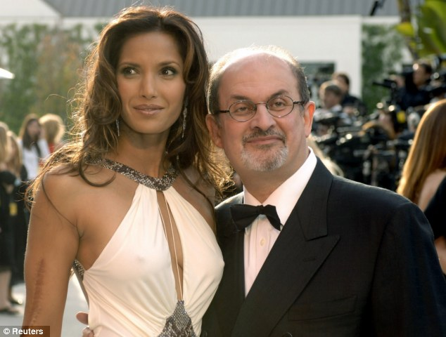 salman rushdie on whether we circle the drain james howden certainly no pessimist this is not his daughter padma lakshmi