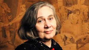 This is not my bride. But it *is* Marilynne Robinson, the gifted American author, about whom more in a moment.